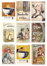 KP0039 Cutouts Vintage Coffe
