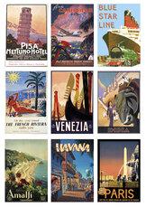 KP0041 Cutouts Vintage travel