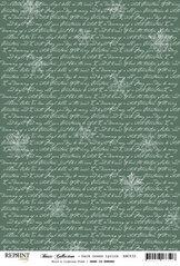 RBC032 Mörkgrön jul text