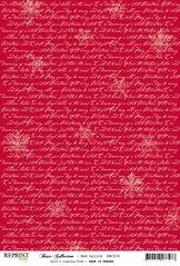 RBC035 Röd jul text