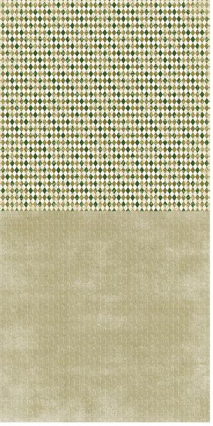 RP0164 Green Rhombs