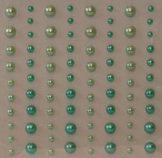 R1665 Green Pearls