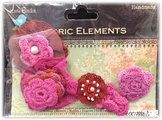 CR17886 Virkade blommor Rosa