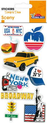 440051 Sceny stickers
