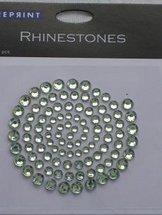 R0709 Lime Rhinestones