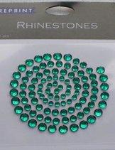 R0708 Green Rhinestones