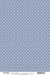 RBC097 Vintage blå stjärnor
