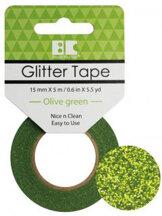 GTS008 Glittertape  Green