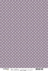 RBC102 Vintage lila stjärnor