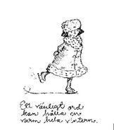 AT024 Kvinna på skriskor