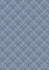 RBC110 Vintage blå Swirls
