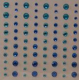 R1644 Blue  Rhinestones