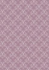 RBC113 Vintage rosa Swirls