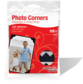 01626-10 Photocorners Black