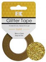 GTS002 Glittertape  Gold