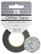 GTS001 Glittertape  Silver