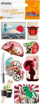 440070 Sceny stickers