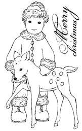 EZR062 Millas pojke med rådjur