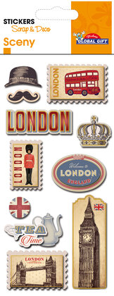 440120 Sceny stickers