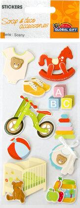 440014 Sceny stickers