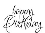 OM2125 C Happy Birthday