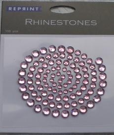 R0701 Rosa Rhinestones