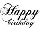 OM2126 C Happy Birthday